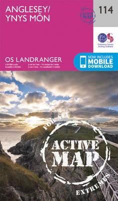 Landranger Active (114) Anglesey