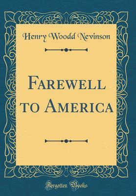 Farewell to America ...