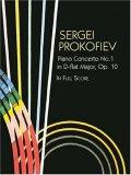 Piano Concerto No. 1 in D-flat Major, Op. 10, in Full Score