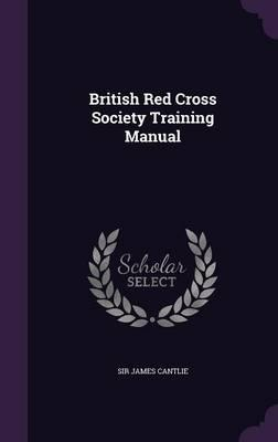 British Red Cross Society Training Manual