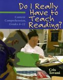 Do I Really Have to Teach Reading?