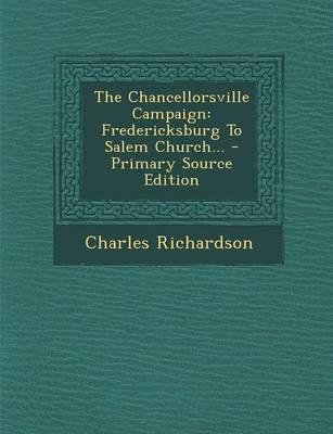 The Chancellorsville Campaign