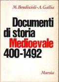 Documenti di storia medioevale 400-1492
