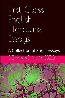 First Class English Literature Essays