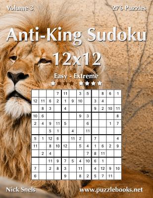 Anti-king Sudoku 12x12