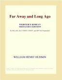 Far Away and Long Ago (Webster's Korean Thesaurus Edition)