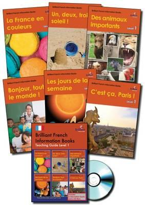 Brilliant French Information Books Pack