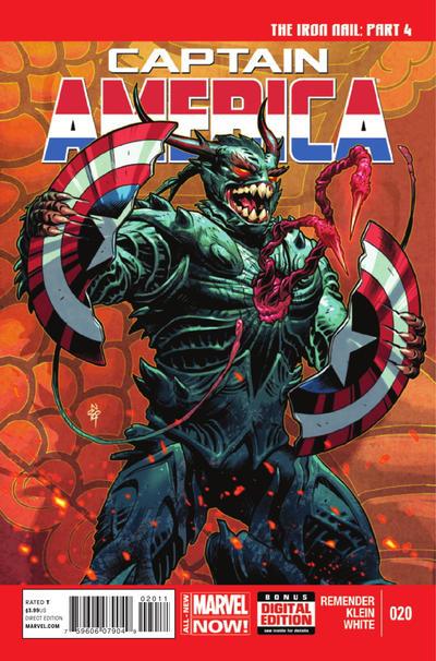 Captain America Vol.7 #20