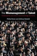 The Mismanagement of Talent