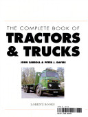 Complete Book Tractors and Trucks