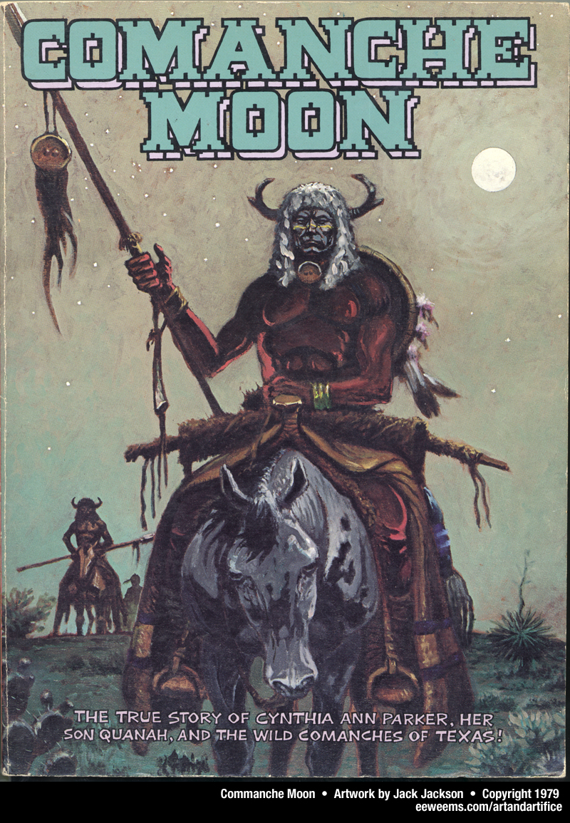 Comanche moon, a picture narrative about Cynthia Ann Parker