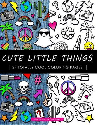 Cute Little Things Coloring Book