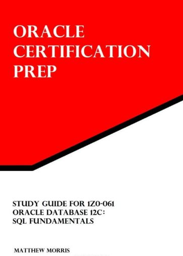 Oracle Certification...