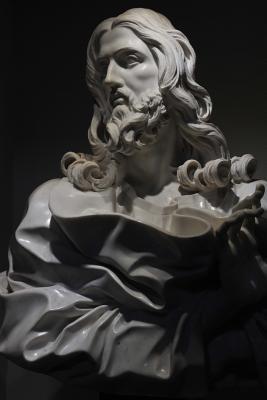 Bust of Jesus Christ...