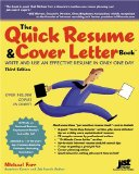 The Quick Resume and...