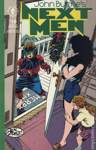 John Byrne's Next Men Vol.1 #10