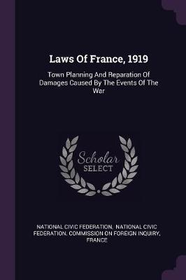 Laws of France, 1919