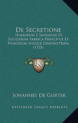 de Secretione de Secretione