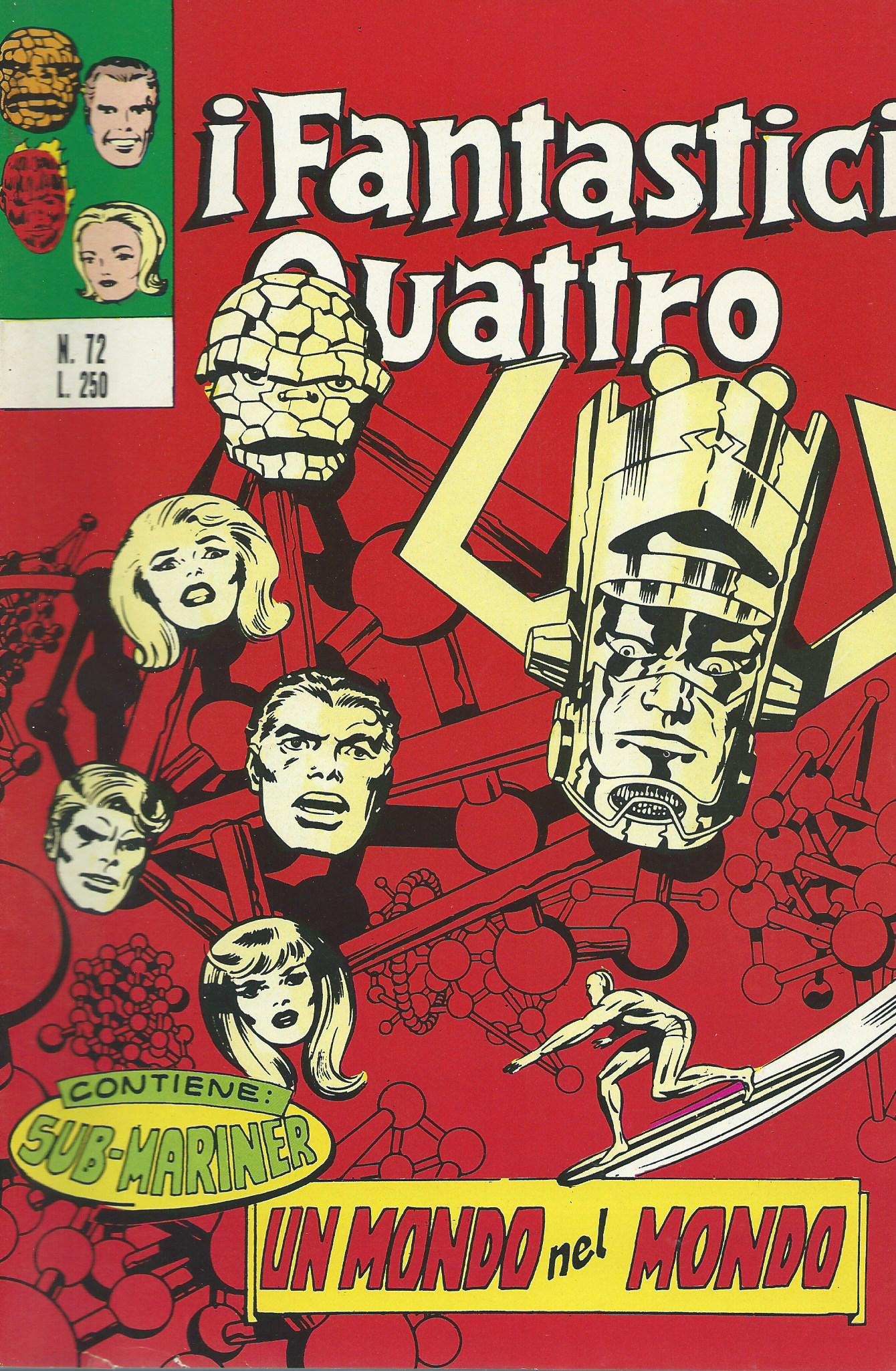 I Fantastici Quattro n. 72
