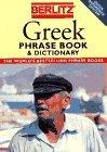 Berlitz Greek Phrase Book & Dictionary