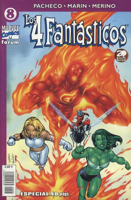 Los 4 Fantásticos Vol.4 #8 (de 24)