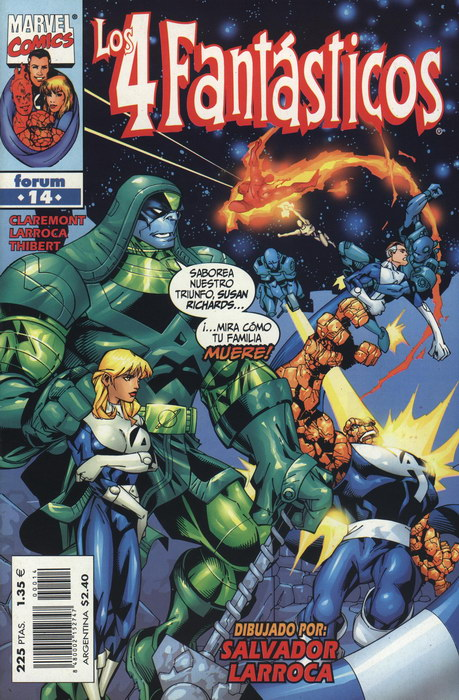 Los 4 Fantásticos Vol.3 #14 (de 34)