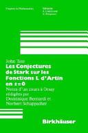 Les Conjectures de Stark sur les Fonctions L d'Artin en s=0