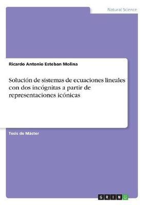 Solución de sistemas de ecuaciones lineales con dos incógnitas a partir de representaciones icónicas