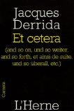 Et cetera...