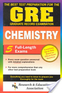 The Best Test Preparation for the GRE, Graduate Record Examination, Chemistry