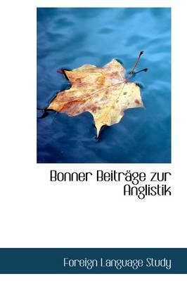 Bonner Beitr GE Zur Anglistik