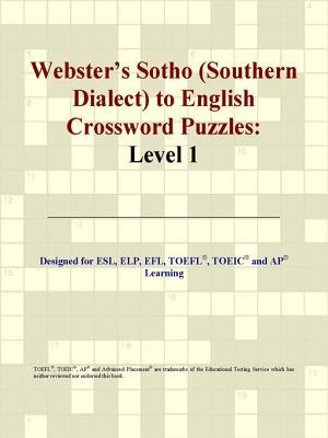 Webster's Sotho (Southern Dialect) to English Crossword Puzzles