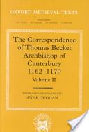 The Correspondence of Thomas Becket