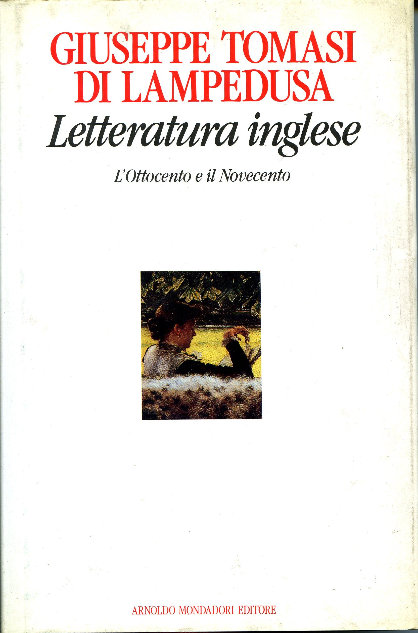 Letteratura inglese ...