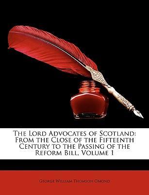 The Lord Advocates of Scotland