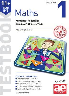 11+ Maths Year 5-7 Testbook 1