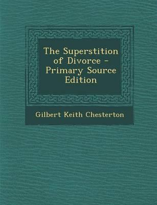 The Superstition of ...