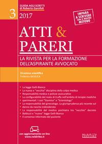 Atti & pareri. La rivista per la formazione dell'aspirante avvocato (2017). Con Contenuto digitale (fornito elettronicamente)