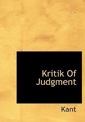 Kritik of Judgment