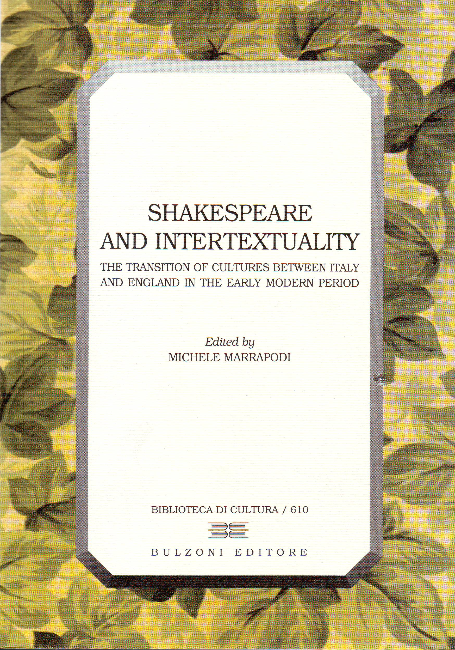 Shakespeare and intertextuality