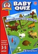 Animali, parco, natura. Baby quiz. Con gadget