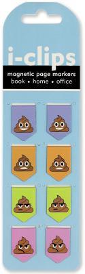 Poop I-clips Magnetic Page Markers
