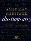 """American Heritage"" Dictionary of the English Language"