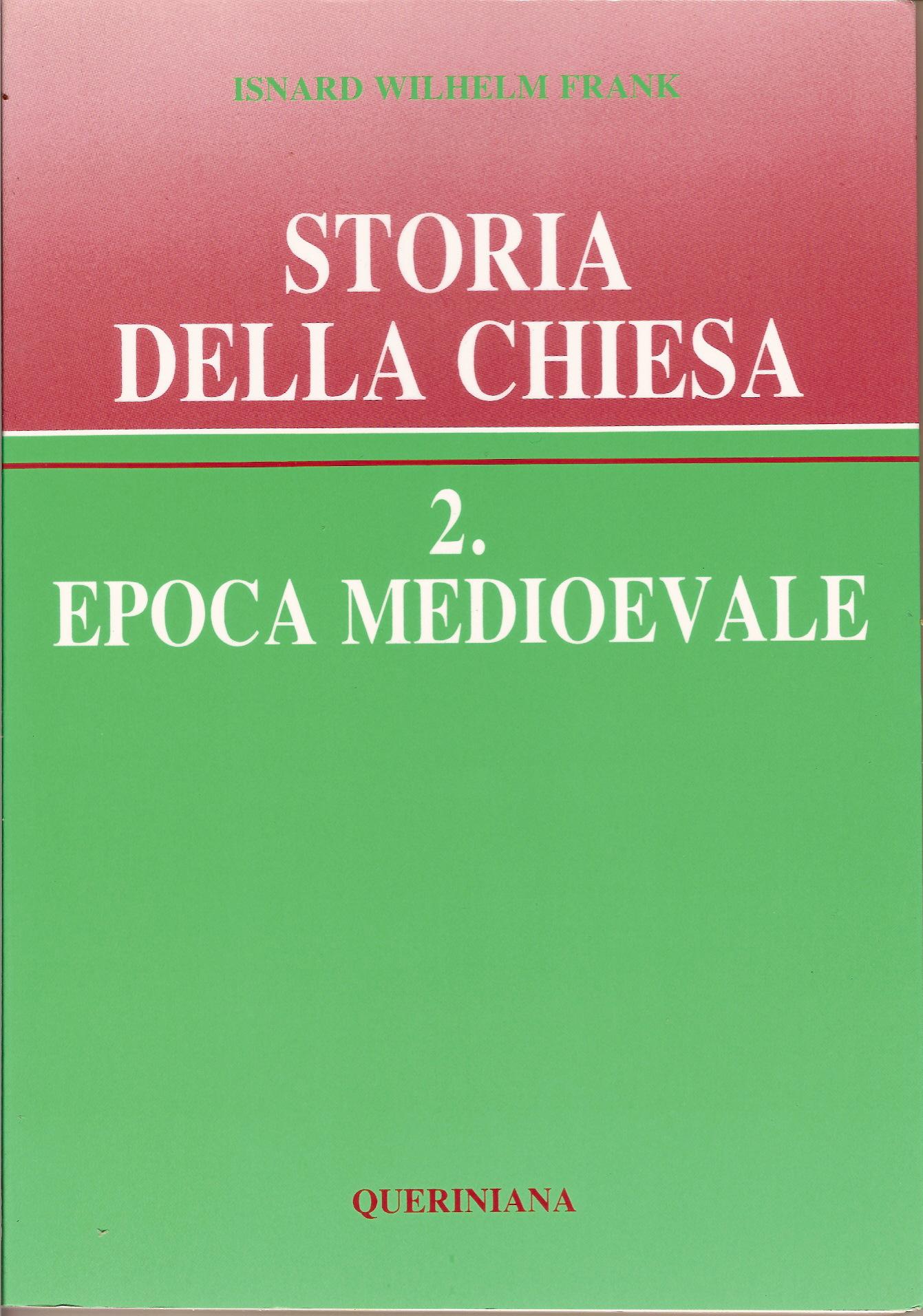 Storia della Chiesa / Epoca medioevale