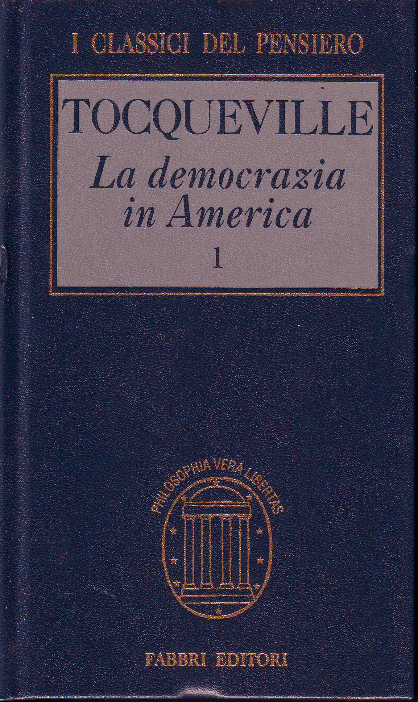 La democrazia in America vol.1