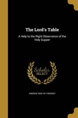 LORDS TABLE