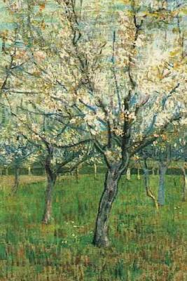 Orchard With Blossoming Apricot Trees by Vincent Van Gogh Journal