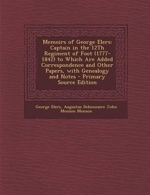Memoirs of George Elers