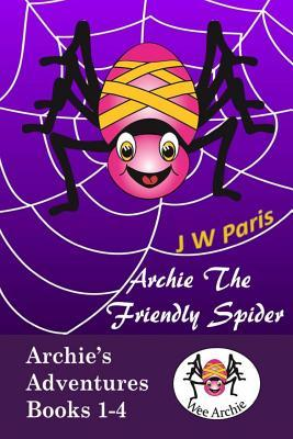 Archie the Friendly Spider 4 Book Bundle