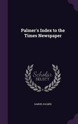 Palmer's Index to th...